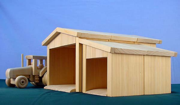 Plan 127 Machinery Shed Is An Intergral Part Of Any Farm Toy Collection