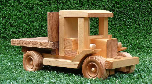Plan 147 Scale 1 20 Early Model Pickup Tuff Truck Series Easy To Build As A Toy Or To Display On The Mantelpiece