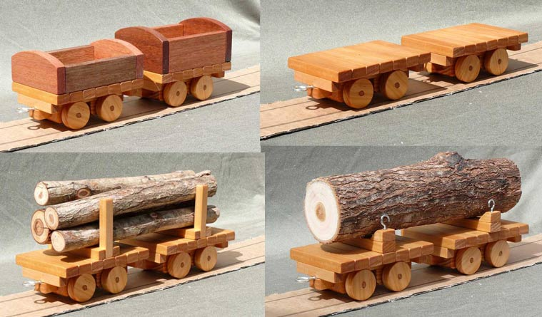 Plan 159 Scale 1 18 Narrow Gauge Freight Cars Build 4 Different Freight Cars For Your Narrow Gauge Train